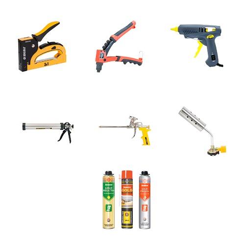 Крепежные инструменты и приспособления