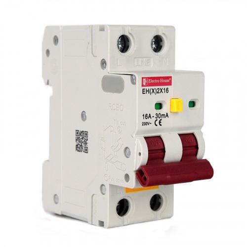 Дифференциальные автоматические выключатели модульные
